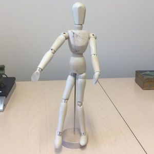 Other - Wooden Jointed Figure